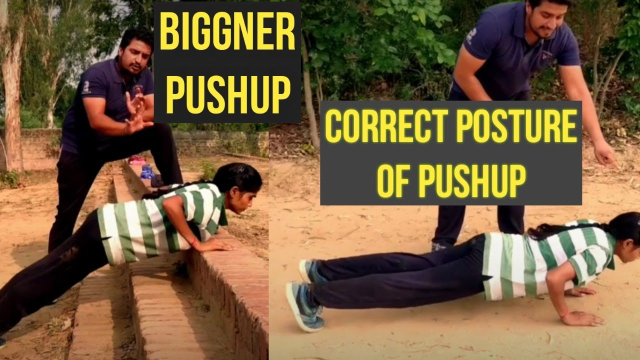 Proper Technique For Pushups and How to Do Pushups for Biggner Mistakes in Pushups in Hindi Sahil