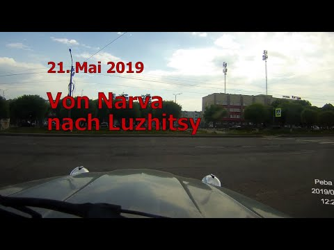Dashcam Video: Driving In A Citroen 2 CV In Russia From Iwangorod To Luzhitsy