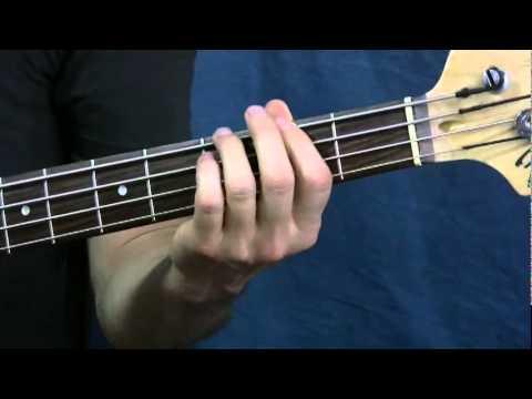 easy bass guitar lesson enter sandman metallica