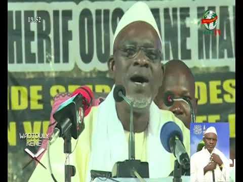 Cherif Ousmane Madani Haidara en côté d'Ivoire Bouake le 07/07/2018 volume 01