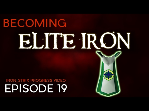 Achievement Diary Cape  - Becoming Elite Iron #19 - OSRS Ironman Progress Series