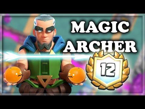 12 Wins Magic Archer Draft Challenge | 3 Leggies in a ROW! | Clash Royale 🍊