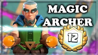 12 Wins Magic Archer Draft Challenge | 3 Leggies in a ROW! | Clash Royale 🍊