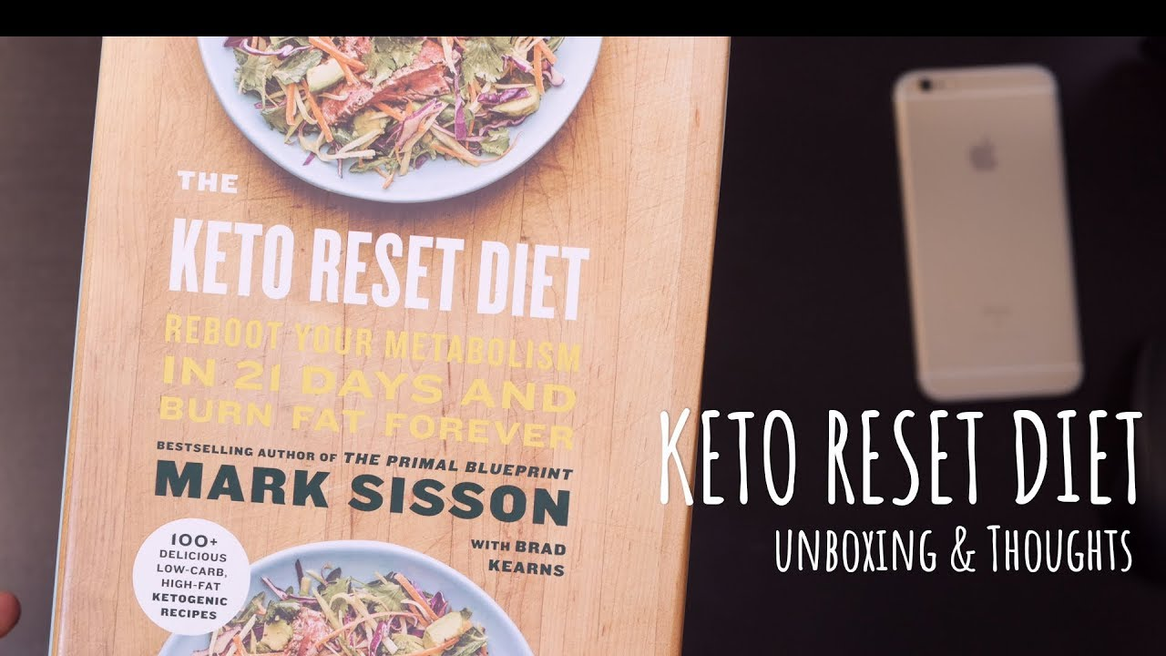 The keto reset diet book unboxing and thoughts youtube the keto reset diet book unboxing and thoughts malvernweather Images