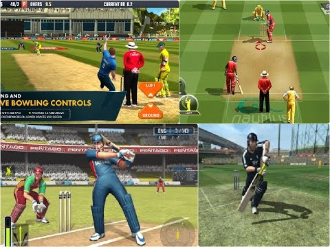 TOP 10 FREE CRICKET GAMES FOR ANDROID