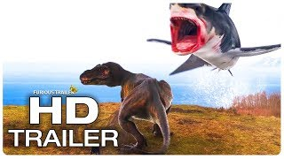 SHARKNADO 6 Shark Vs T-Rex Trailer (NEW 2018) Action Movie HD