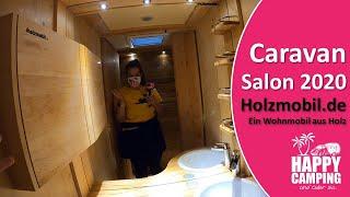 Caravan Salon 2020 - Vorstellung Holzmobil.de | Happy Camping