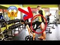 FAKE BALLS PRANK IN THE GYM ?!? EPIC REACTIONS !!