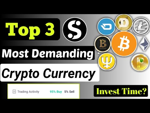 Top 3 Demanding Crypto Currency Invest Time | Cryptocurrency News Today | Cryptocurrency in hindi |