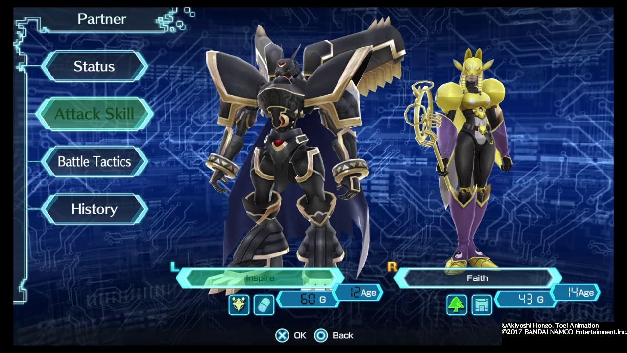 Digimon World: Next Order OmniShoutmon Digivolves To