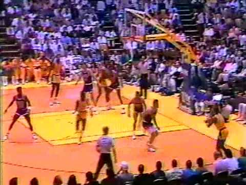 NBA Greatest Duels: Magic Johnson vs Kevin Johnson (1989)