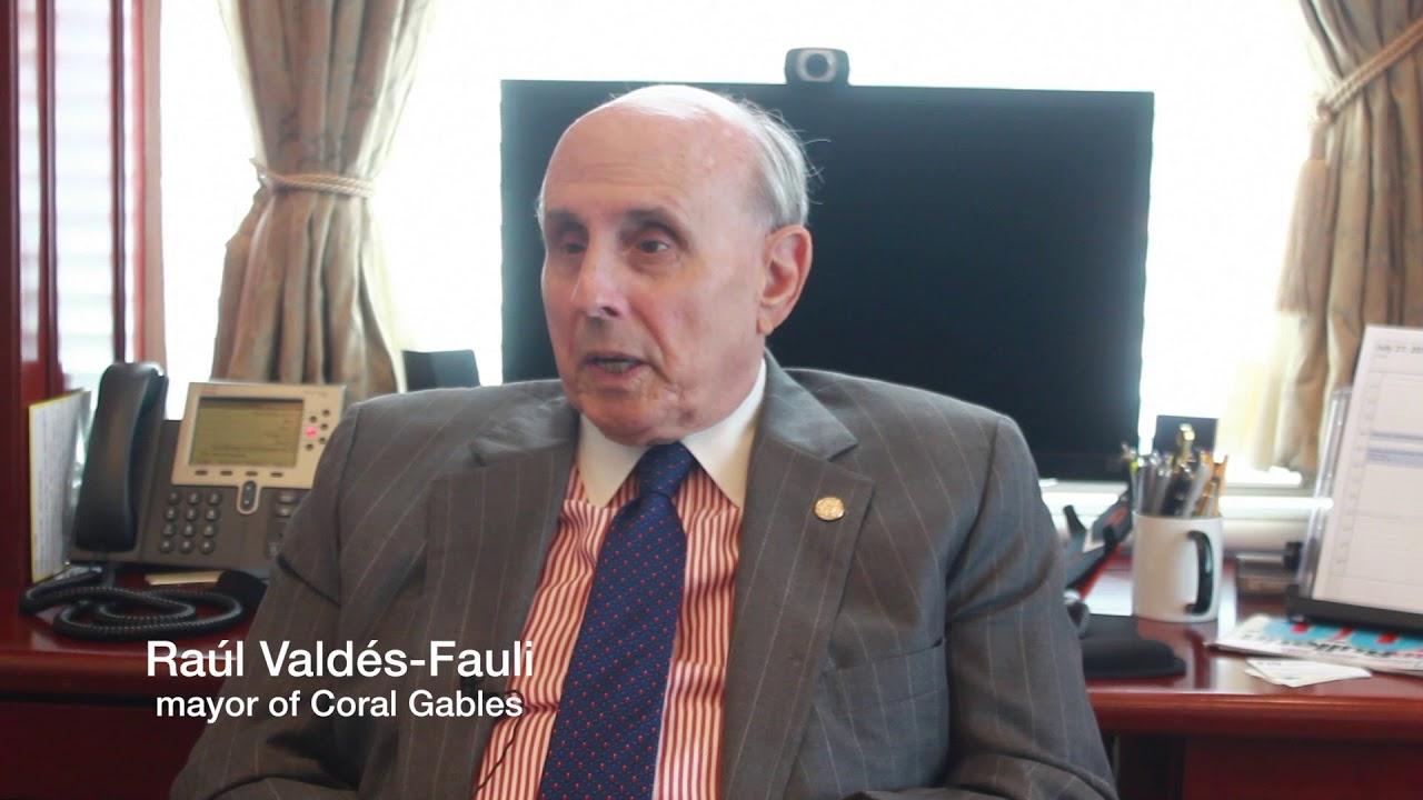 Miami Today Profile Raúl Valdés Fauli - YouTube