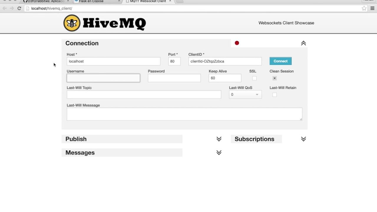 MQTT/Rabbit/HiveMQ Client/Jupyter en Docker - YouTube