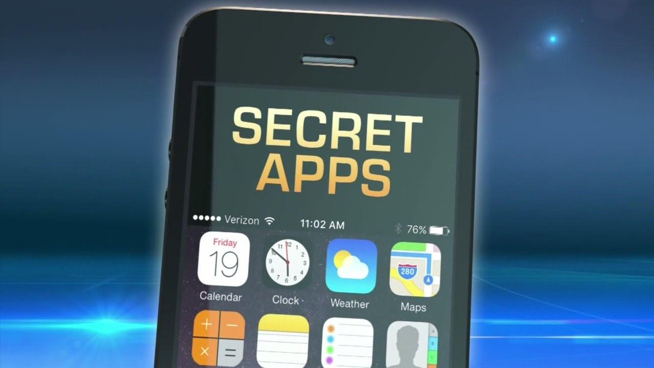 Show hidden apps iphone
