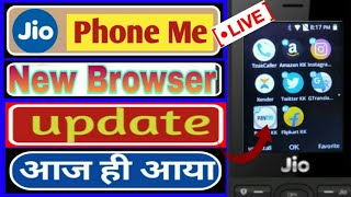 Jio Phone Me New Update 2020 | New Feature In jio Phone | uktechnopoint