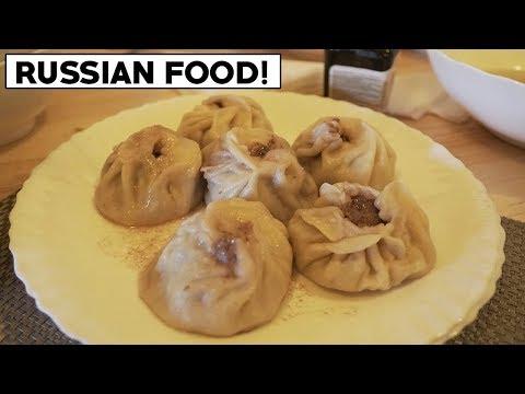 EATING RUSSIAN FOOD