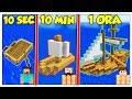 QUANTO CI METTI A COSTRUIRE UNA NAVE? - Minecraft ITA