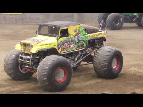 Monster Truck Racing Redmond Or 2018 Youtube
