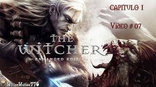 ♥ Misiones The Witcher CAPITULO I | El Rey de la Cripta y El Monstruo del Lago | GamePlay | Vídeo 7