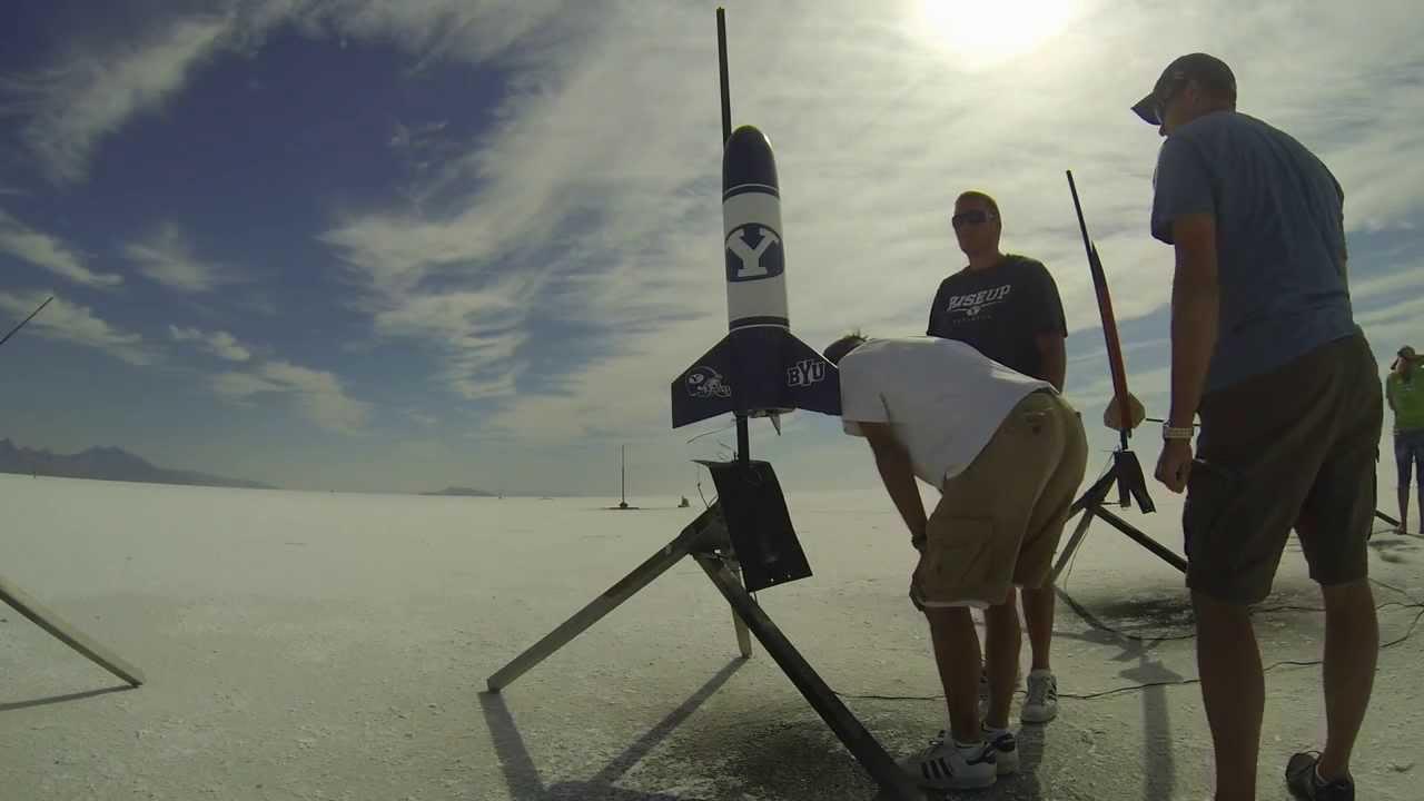 BYU Rocket Launch GoPro