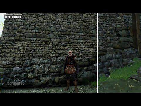 The Witcher 3 | Grafikvergleich / Graphics comparison | Min vs. Max | Preview