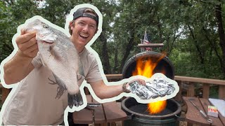 Grilling Big Crappie | Better than Frying?...