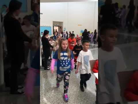 Nathaniel Woodhull Elementary School Vocabulary Parade