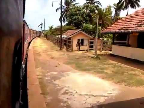 Sri Lanka, Halawatha Railway Station Start