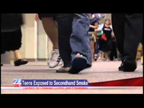 Teens Exposed to Secondhand Smoke