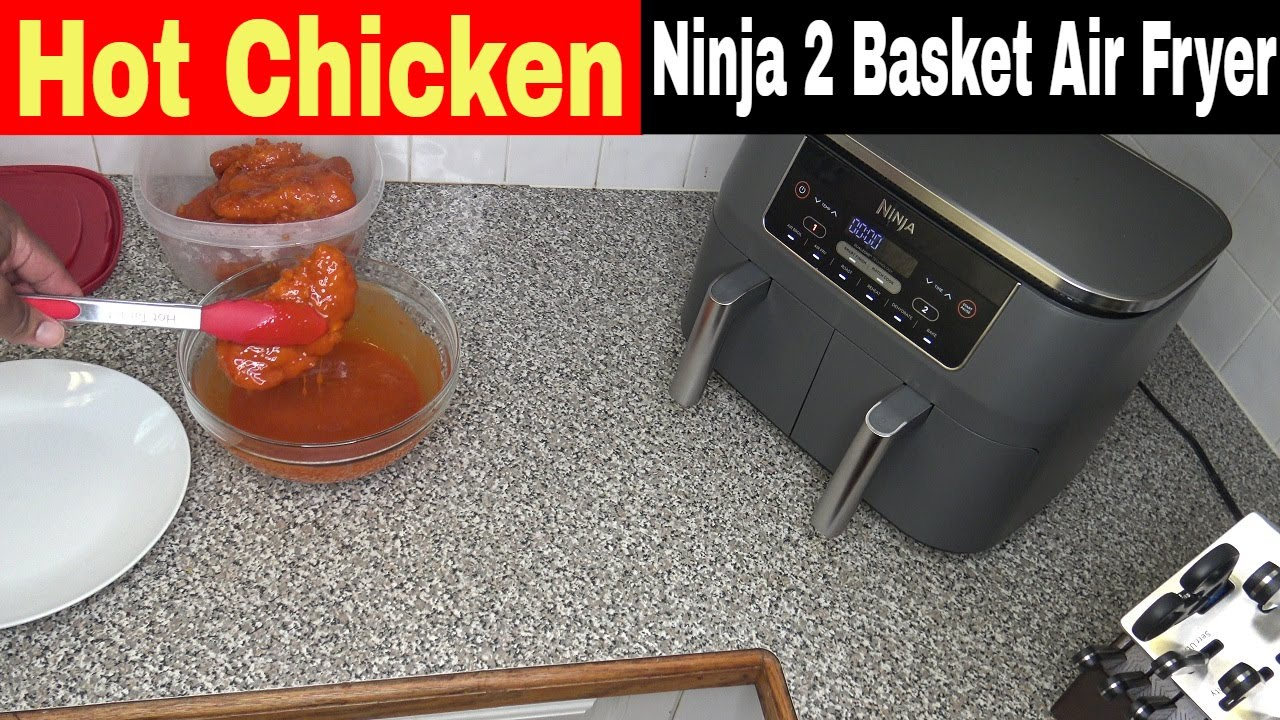 Hot Fried Chicken Tenderloins, Ninja Foodi 2 Basket Air Fryer Recipe
