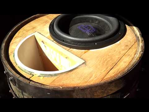"CRAZY BASS DEMO ""The Ultimate Demo Song, Worlds loudest Wine Barrel DD Audio"