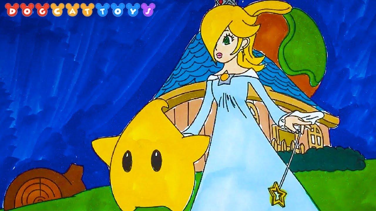 Princess Rosalina Coloring Pages - AZ Coloring Pages ... | 720x1280