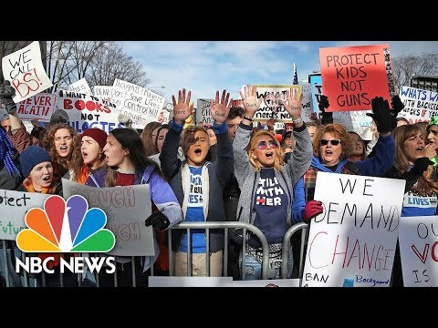 March For Our Lives: A Rally To End Gun Violence | NBC News