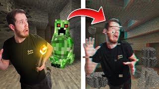 Minecraft Survival Except Every Time You Break A Block It Multiplies! #5