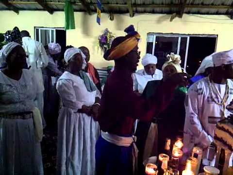 Spiritual Baptist Thanksgiving in St Vincent