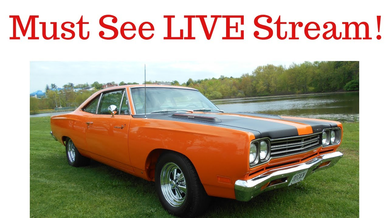 Muscle Car Appraisal Live Stream - YouTube