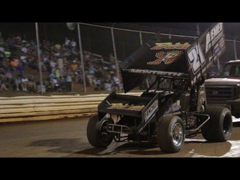 5.28.16 - Lincoln Speedway - Brian Montieth wins