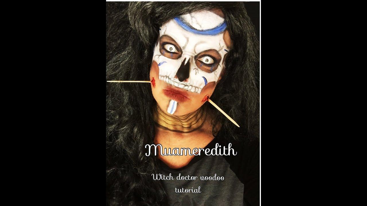 Voodoo Witch Doctor Makeup Tutorial You