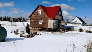 Поселок Осьмино дом из бруса на 30 сотках земли