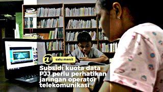 Subsidi pulsa PJJ harus jawab kebutuhan jaringan internet