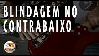 #Exclusivo! Tutorial Blindagem no Contrabaixo e Guitarra - Elimina os Ruídos - André Sarmanho