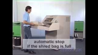 Destroyit 4107 Industrial Paper Shredder