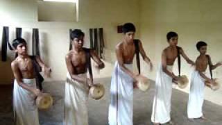 Kerala kalamandalam - Thimila ( Panchavadyam ) - Annamanada Parameswara Marar Kalari