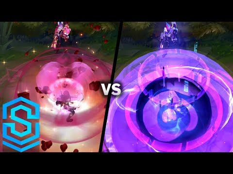 Heartseeker Jinx VS All Previous Skins | Skin Comparison