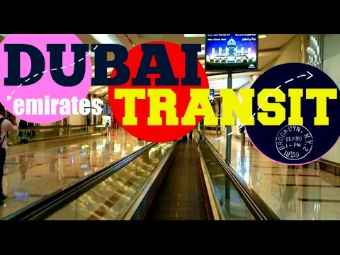 DUBAI TRANSIT ||| FREE Emirates 🛬