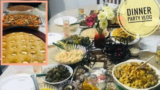 Dinner Party Vlog | Recipes of Mutton Biriyani | Meen Pollichathu | Coleslaw salad| Chicken-Veg Soup