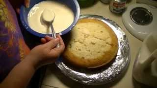 Three Milk Cake (pastel De Tres Leches)