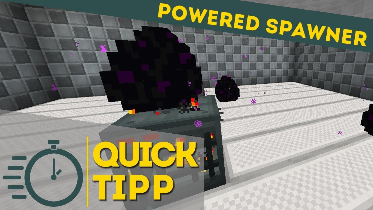 Enderio Powered Spawner / Quick Tipp