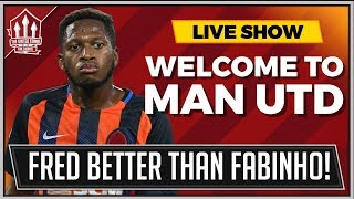 FRED | Welcome To Manchester United? Passes, Tackles, Shots, STATS 2018