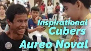 Gambar cover Inspirational Cubers: Aureo Noval | @AureoSpeedCuber